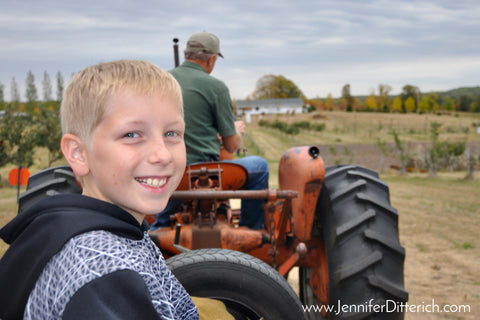 Hayride on the Farm by Jennifer Ditterich