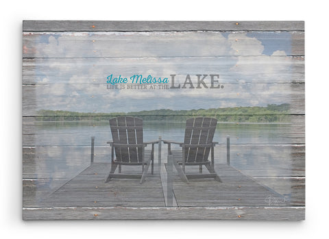 Lake-House-Decor-Personalized-Canvas-Print-Adirondack-Chairs