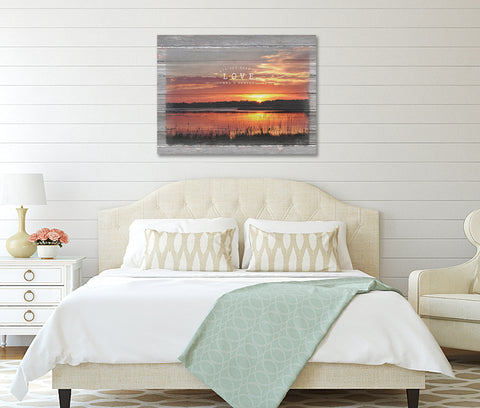 Love-And-A-Sunset-Lakehouse-Decor-Print