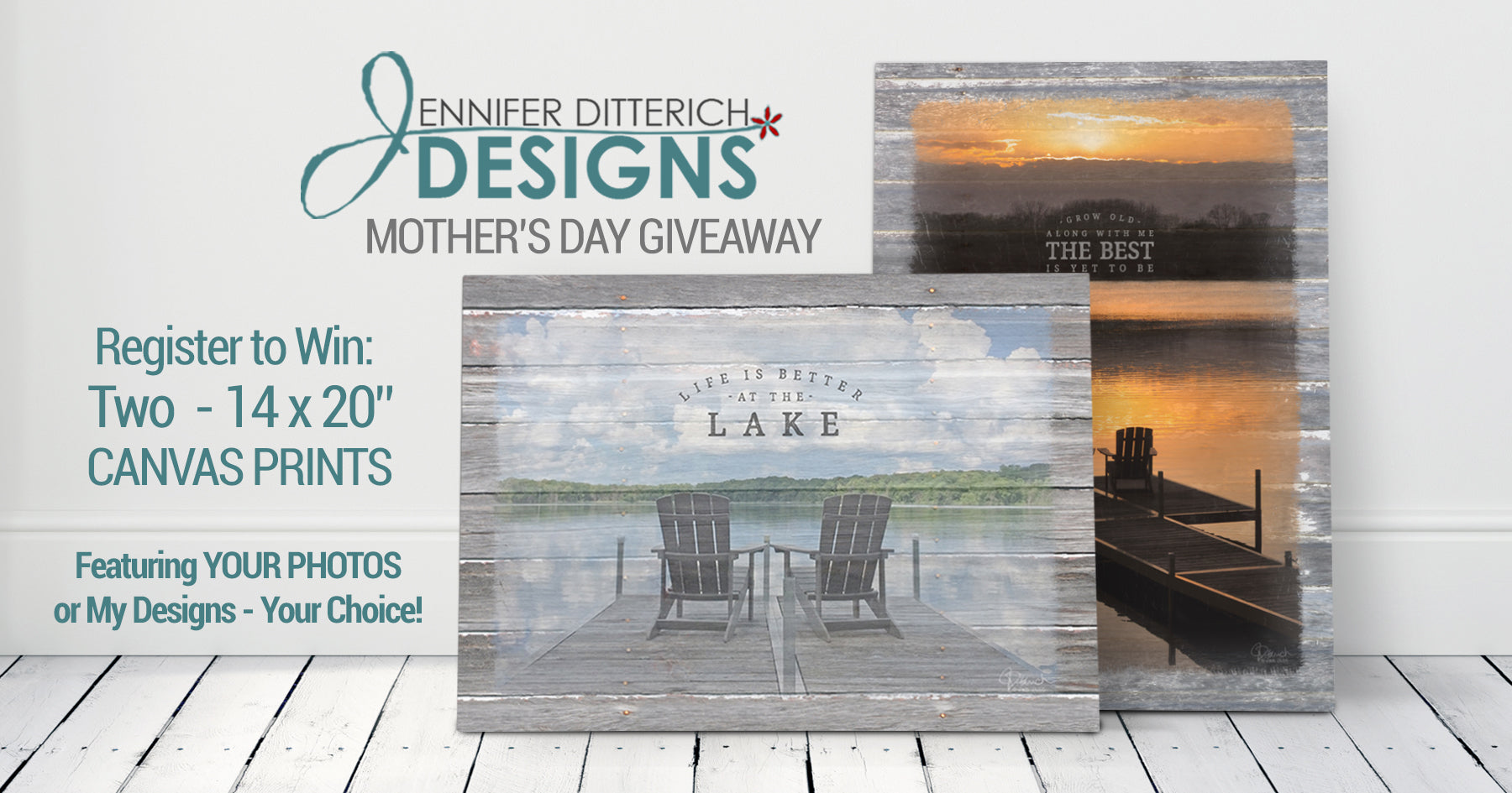 Mother's Day Giveaway Jennifer Ditterich Designs