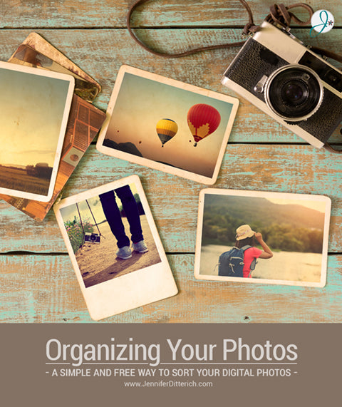 Organizing Your Digital Files by Jennifer Ditterich Designs