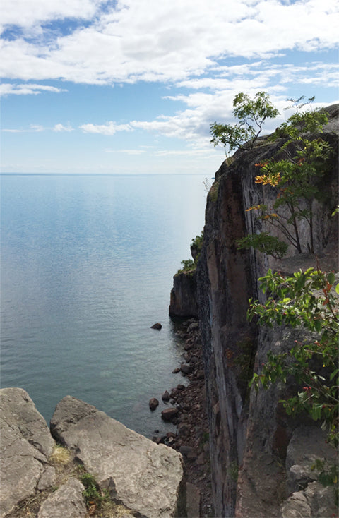 Palisade Head on Lake Superior by Jennifer Ditterich Designs