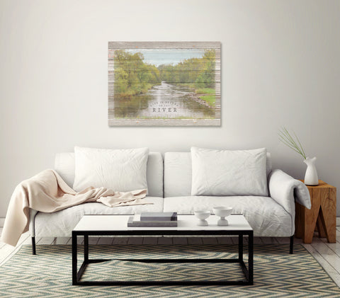 River-Photo-In-Living-Room-Display