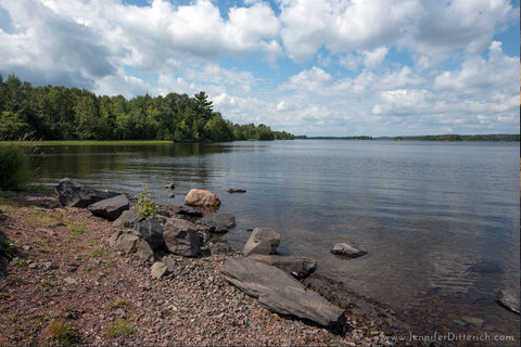 Shagawa Lake in Ely, Minnesota