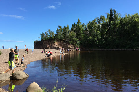 Baptism River Lake Superior