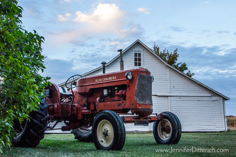 Allis-Chalmers Tractor by Jennifer Ditterich