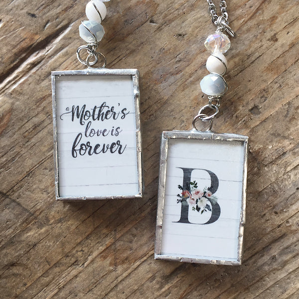 Mother's Love Monogram Necklace