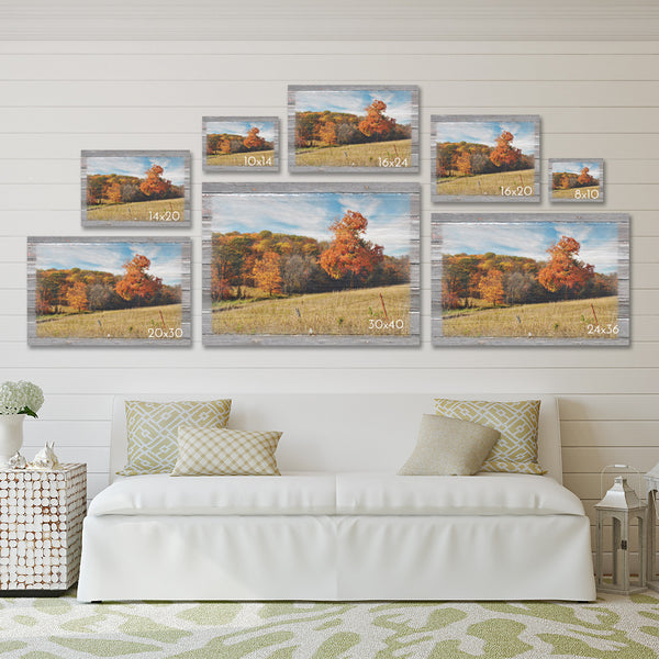 Autumn Countryside Canvas Print