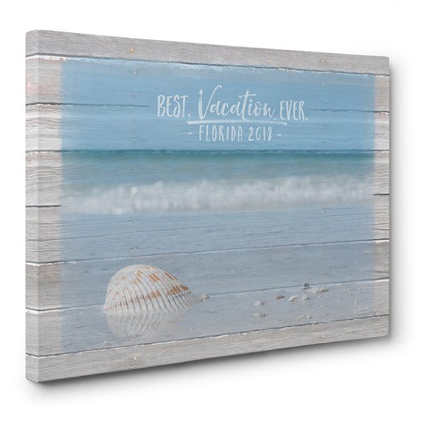 Best Vacation Ever - Personalized Print