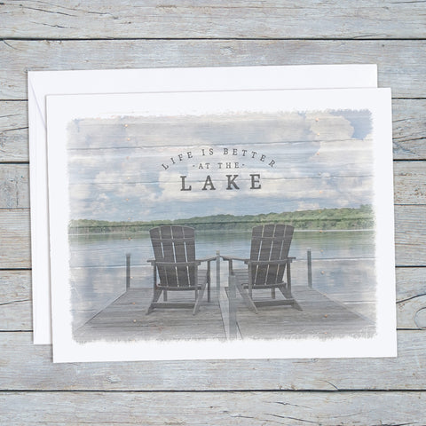 Lake Note Cards