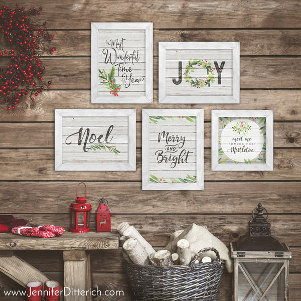 Merry Little Christmas Printable