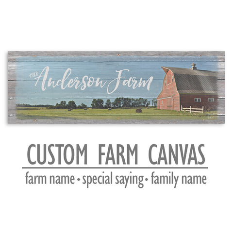Custom Farm Canvas