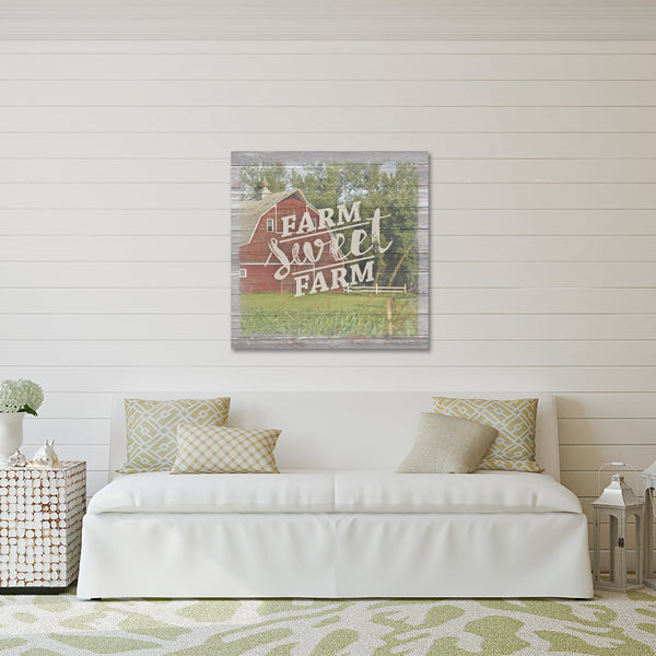 Farm Sweet Farm - Canvas Print