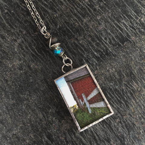 Farm Necklace - I ♥ Farm Life