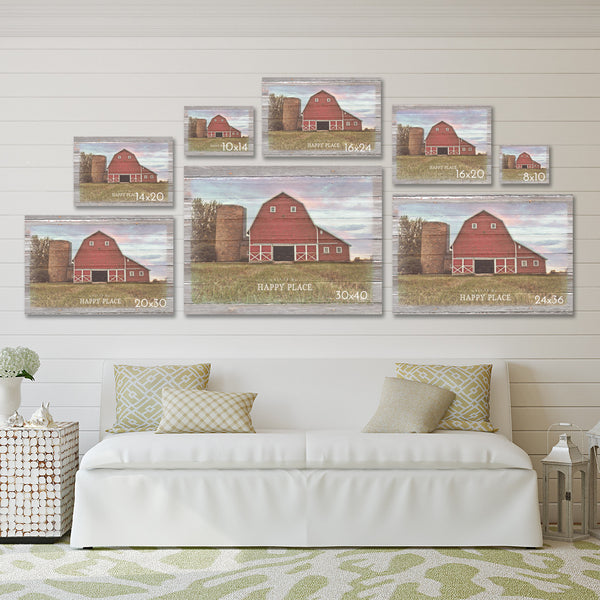 Faith - Family - Farming - Canvas Print