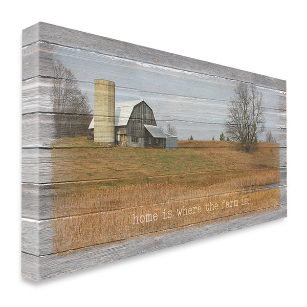 Home Is Where the Farm Is Canvas Print