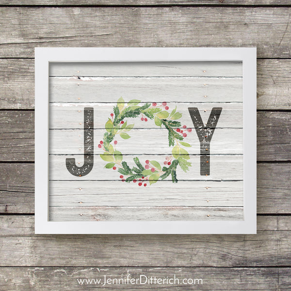 Joy Christmas Printable