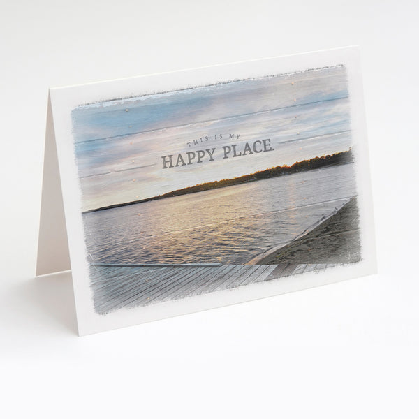 Happy Place Note Card Set
