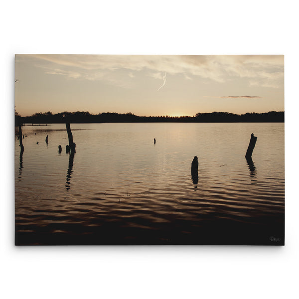 Maplewood State Park Sunset Canvas Print