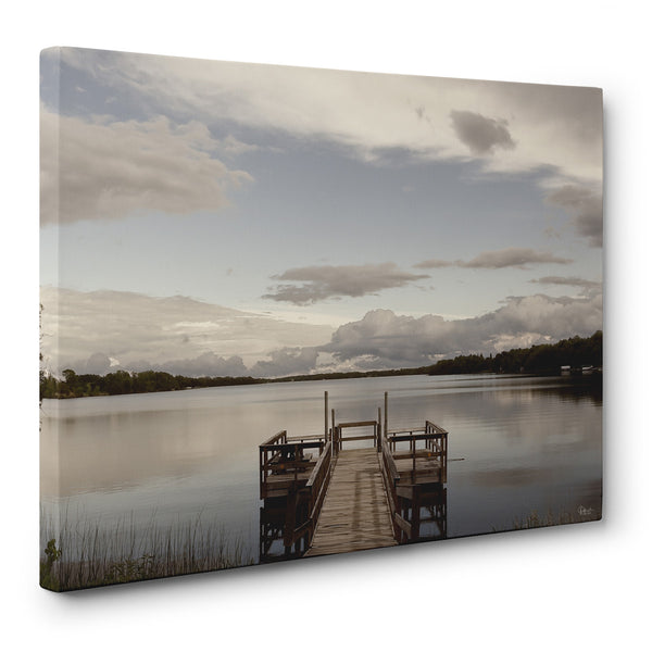 Perfect Day for Fishing Canvas Print