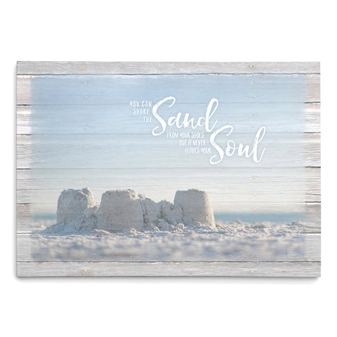 Sand in Your Soul - Sandcastle Print