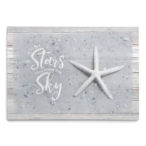 Not all Stars Fall from the Sky - Starfish Print