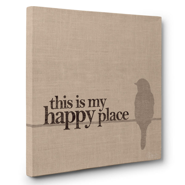 This Is My Happy Place - Canvas Print