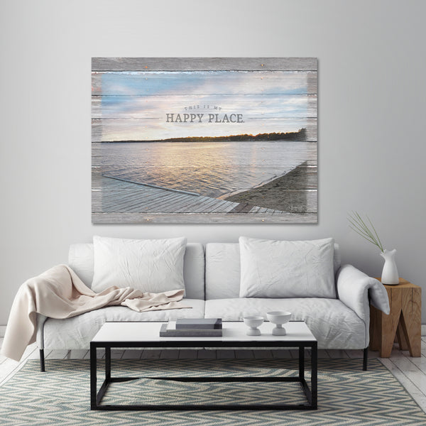 This Is My Happy Place - Lake Home Decor