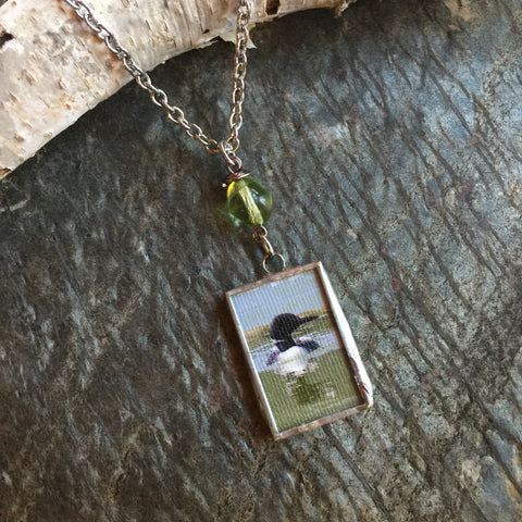 Loon Necklace - Life on the Lake