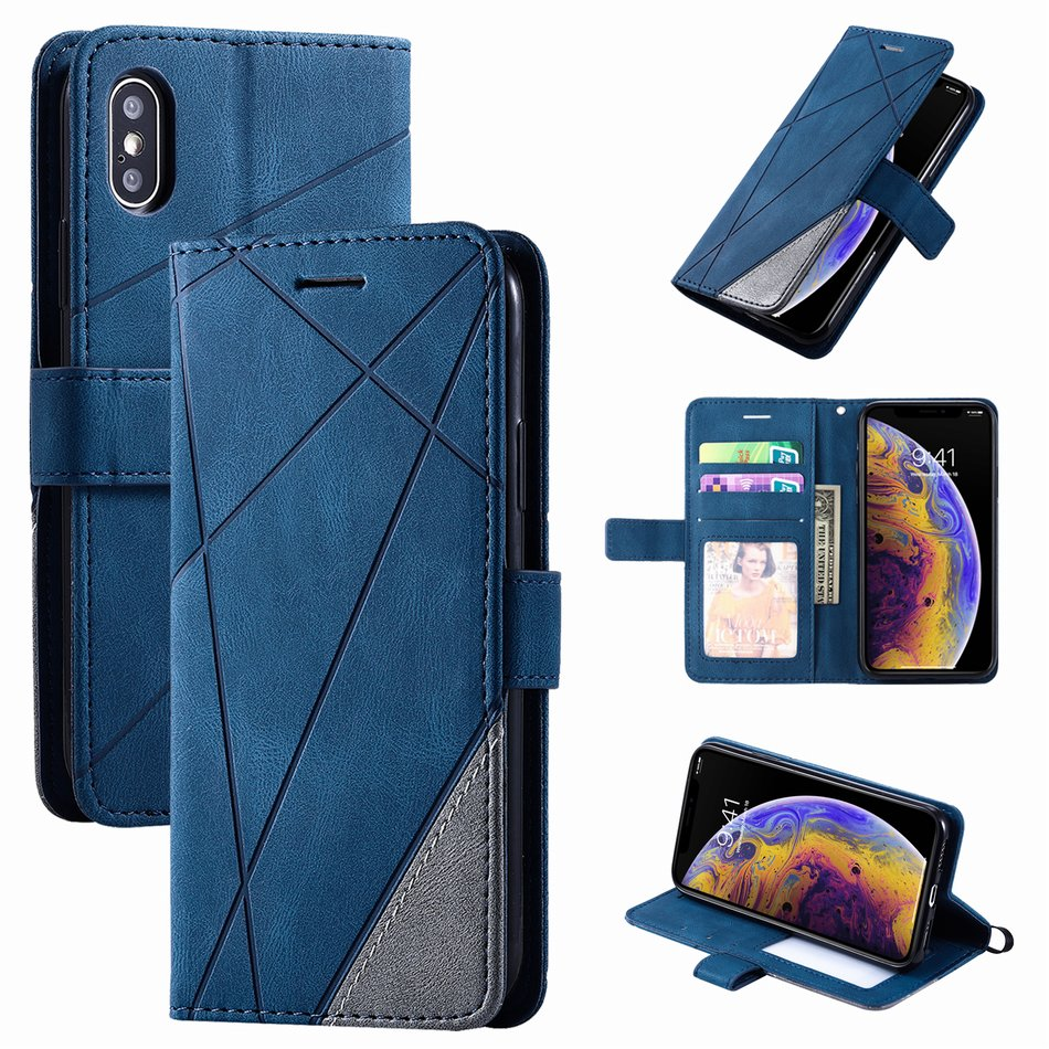 Business Leather Wallet Case for iPhone 13 Pro