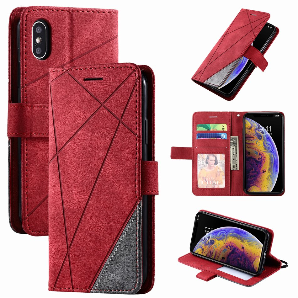 Business Leather Wallet Case for iPhone 13 Pro Max