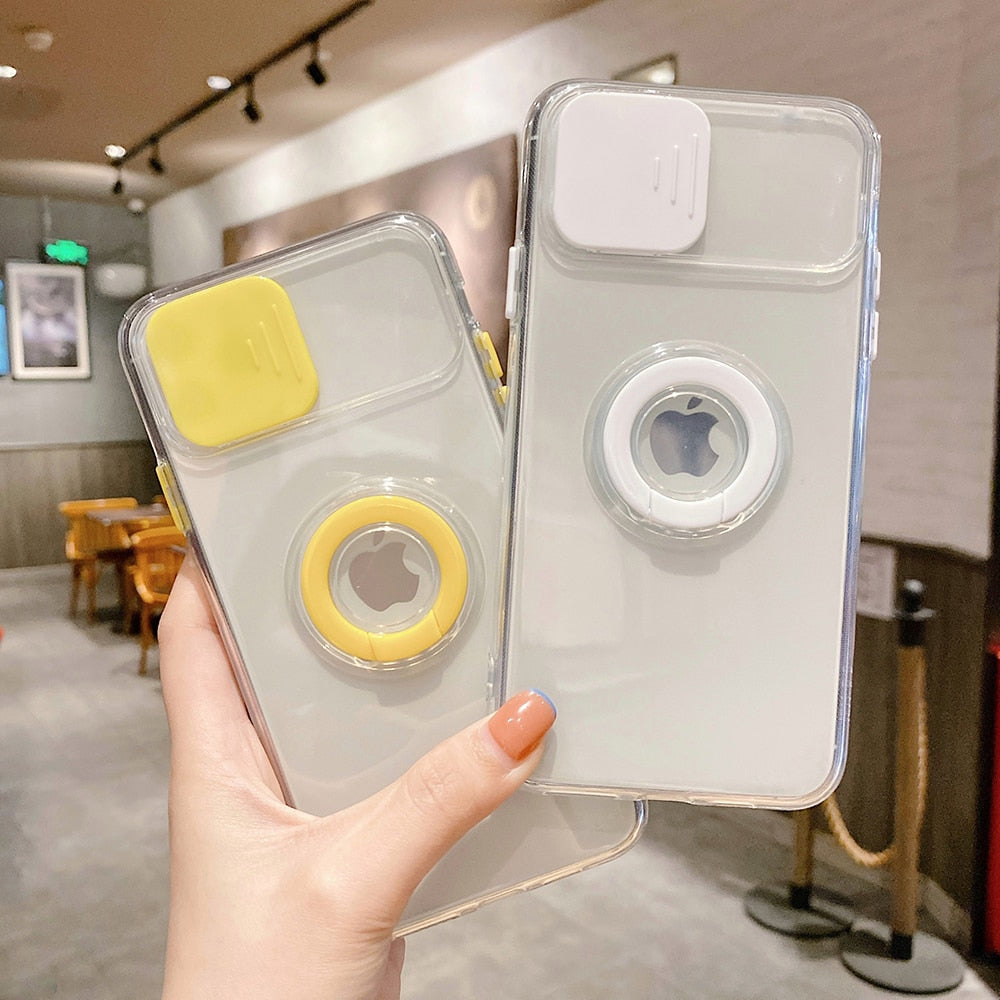 Transparent Camera Protection Case for iPhone 13 Pro