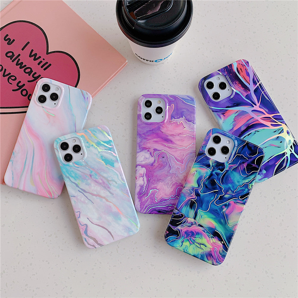 Colorful Marble Style Case for iPhone 13 mini
