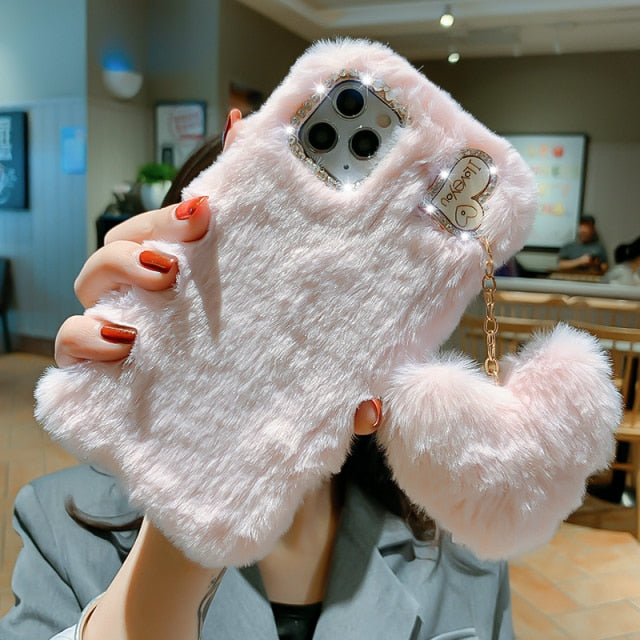 Warm Fur Case for iPhone 13 Pro