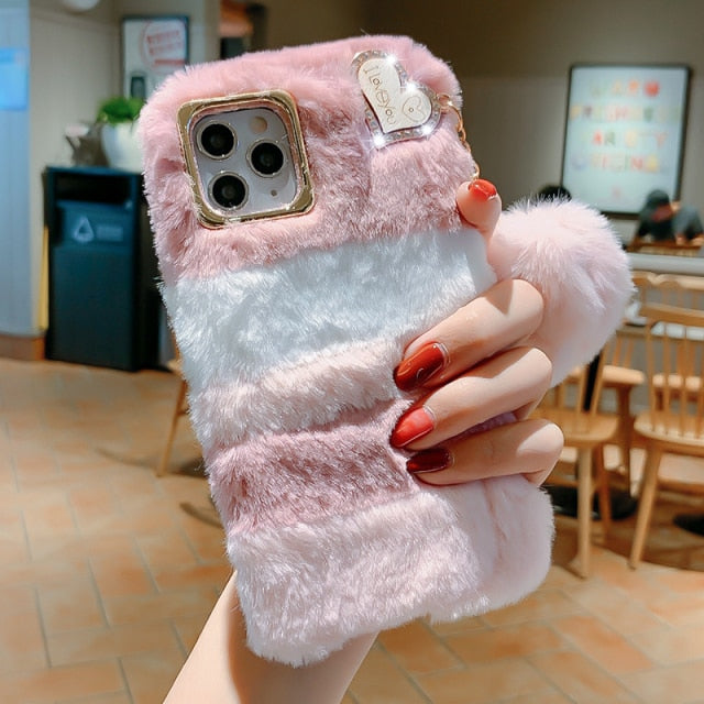 Warm Fur Case for iPhone 13 Pro Max