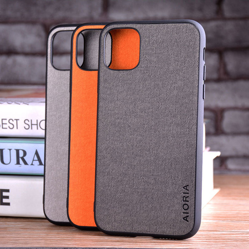 Vintage Leather Case for iPhone 13