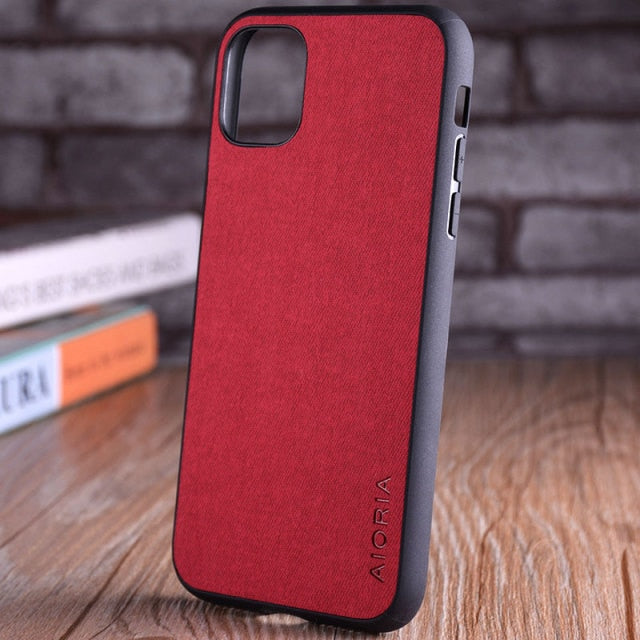 Vintage Leather Case for iPhone 13 Pro
