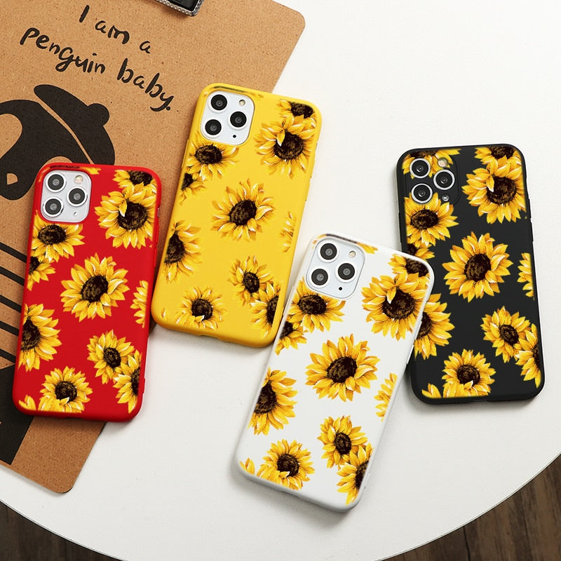 Sunflower Style Case for iPhone 13