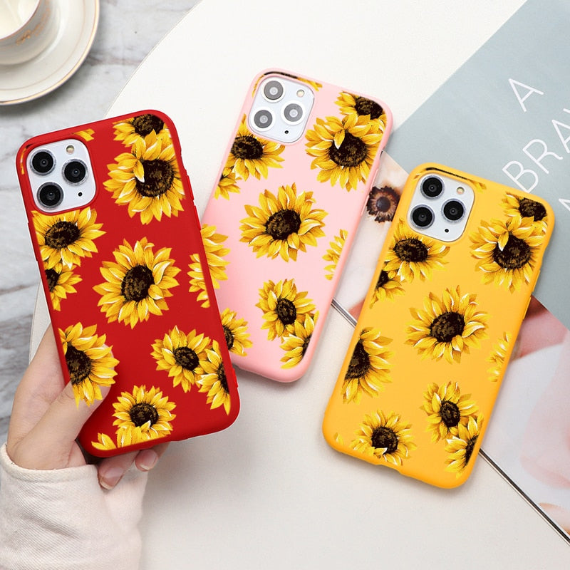 Sunflower Style Case for iPhone 13 Pro