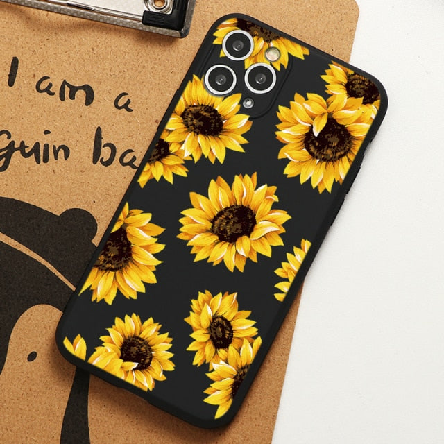 Sunflower Style Case for iPhone 13 Pro Max