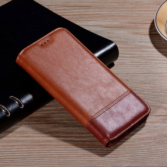 Classy Flip Leather Wallet Case for iPhone 13 Pro