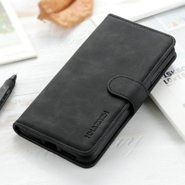 Retro Leather Case for iPhone 13 Pro