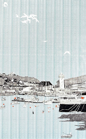 'Falmouth Harbour' by Clare Halifax