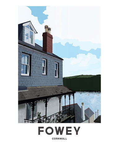 'Fowey River' by Jetty Street Press