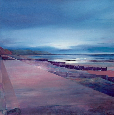 'The Night Before, St Bees' (print on canvas) by Jen Larkin