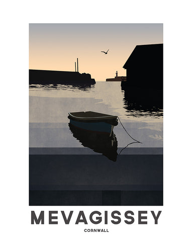 'Mevagissey Dawn' by Jetty Street Press