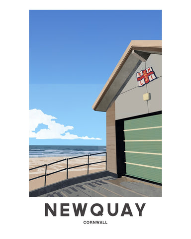 'Newquay Fistral' by Jetty Street Press