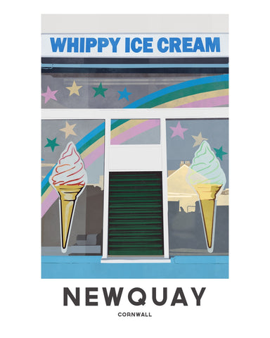 'Newquay Whippy' by Jetty Street Press