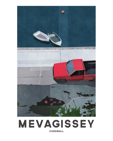 'Mevagissey Quayside' by Jetty Street Press