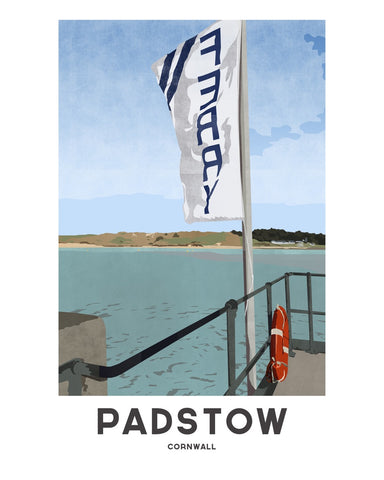 'Padstow Ferry' by Jetty Street Press